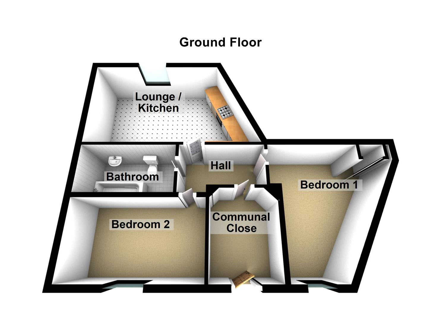 Ground Floor Flat 4 Eassons Angle